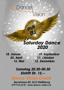 Saturday Dance 2020_silber_goldkugel